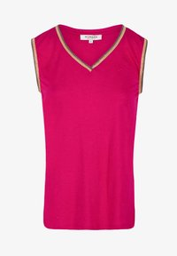 Morgan - WITH LARGE STRAPS AND STRIPS - Top - neon pink - 4