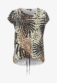 Marc Aurel - Print T-shirt - sand varied - 4
