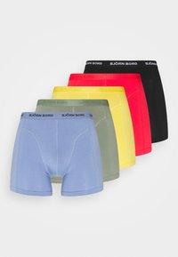 Björn Borg - SEASONAL SOLID SAMMY 5 PACK - Underkläder - yolk yellow - 4