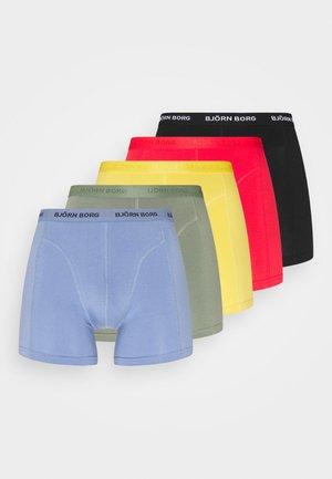 SEASONAL SOLID SAMMY 5 PACK - Underkläder - yolk yellow