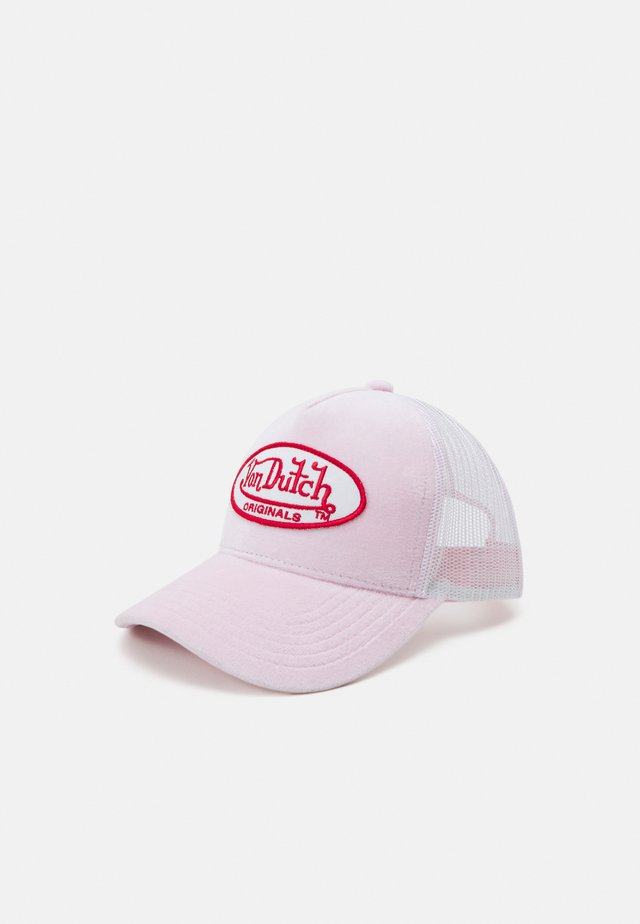 TRUCKER UNISEX - Cap - rose/white