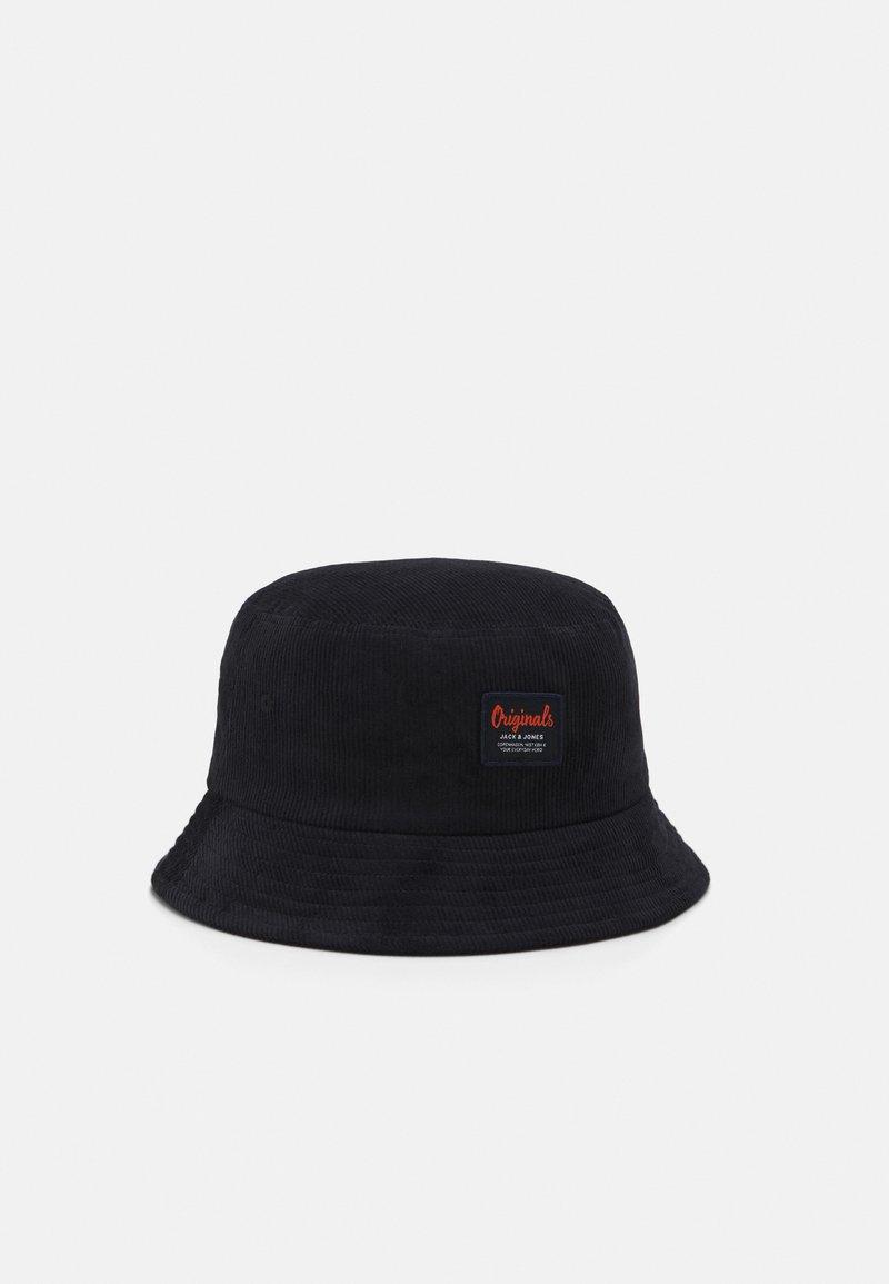 Jack & Jones - JACCODY BUCKET HAT - Hat - black/orange