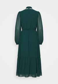 Forever New - TIE NECK MIDI DRESS - Cocktail dress / Party dress - emerald green - 1