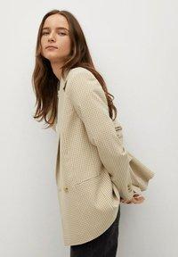 Mango - CHARLOTT - Short coat - beige - 3