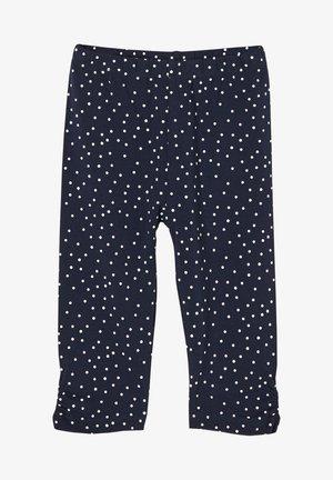 Leggings - Trousers - dark blue dots