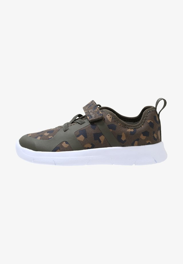 ATH FLUX TODDLER - Sneakers laag - olive green / camouflage