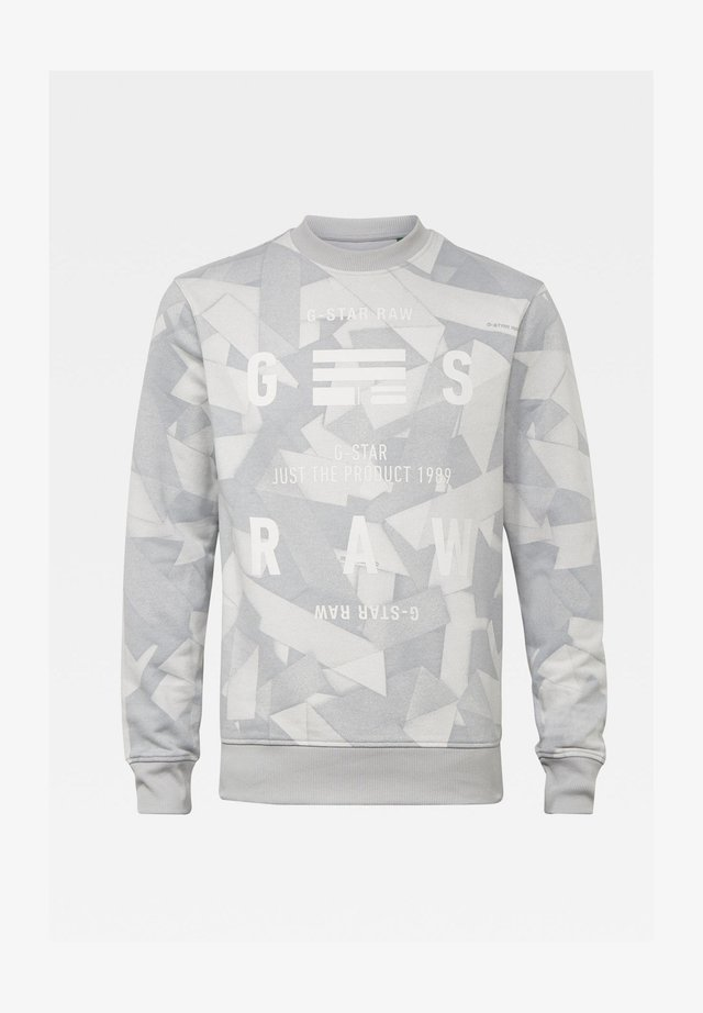 TAPE AOP - Sweatshirt - cool grey tape camo