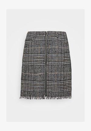 PCJULIA SKIRT - Mini skirt - black