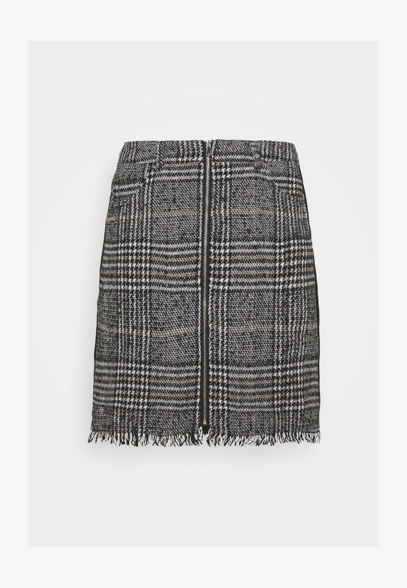 Pieces - PCJULIA SKIRT - Mini skirt - black