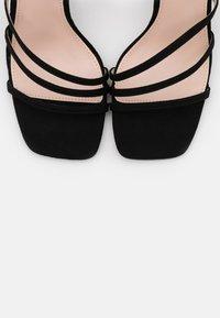 RAID - ANALEA - High heeled sandals - black - 5