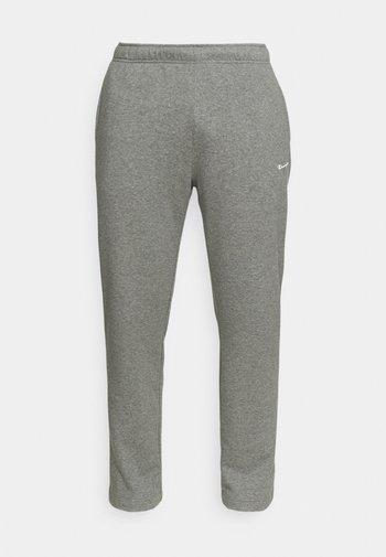 STRAIGHT HEM PANTS - Verryttelyhousut - grey