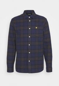 BRUSHED CHECK - Shirt - dark navy