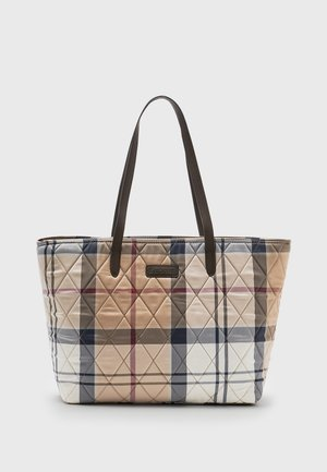 WETHERHAM QUILTED TOTE SET - Tote bag - hessian