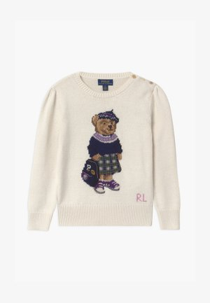 BEAR - Sweter - clubhouse cream