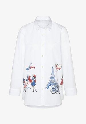 M-LALEH-PR - Button-down blouse - weiß