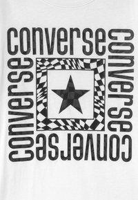 Converse - LOCKUP - T-shirt imprimé - white - 2