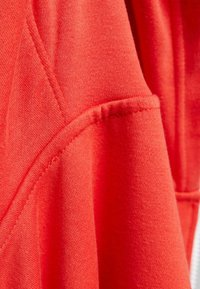 Bershka - OVERSIZE - Sweater met rits - red - 5