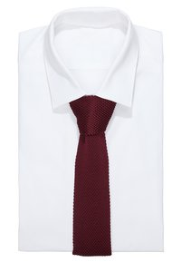 Twisted Tailor - JAGGER TIE - Tie - dark burgundy - 1