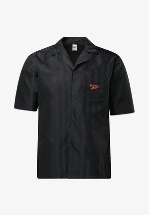CLASSIC SEASONAL REECYCLED CASUAL - Camicia - black