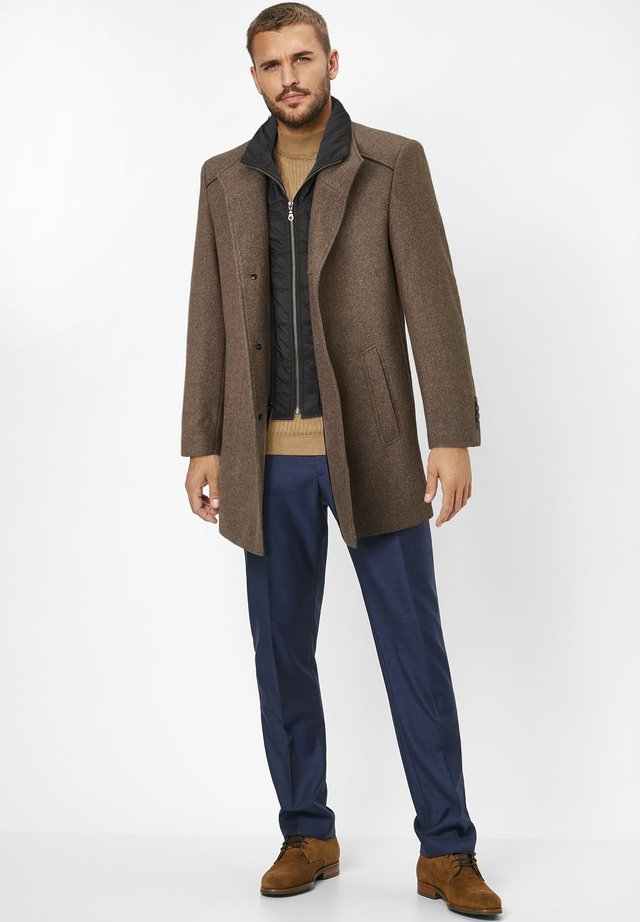 NEWTON  - Short coat - brown melange