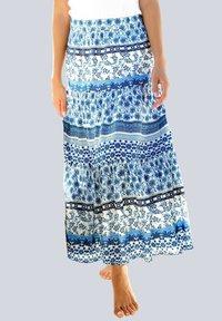 Alba Moda - A-line skirt - blau - 0