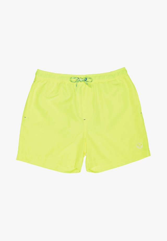 Swimming shorts - yellow fluo
