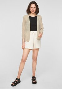 QS by s.Oliver - Cardigan - beige - 1