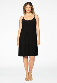 Yoek - Day dress - black - 1