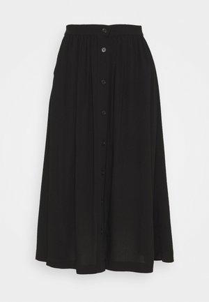 SC-RADIA 93 - A-line skirt - black