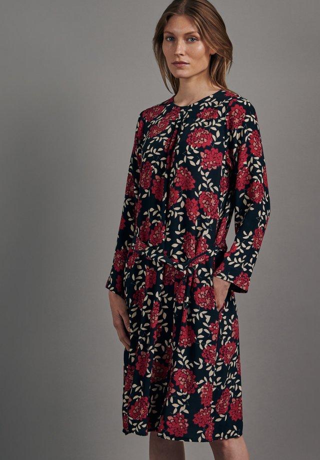 SCHWARZE ROSE REGULAR FIT - Korte jurk - dunkelblau