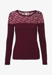 Anna Field - T-shirt à manches longues - winetasting - 4