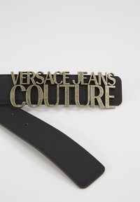 Versace Jeans Couture - COUTURE LOGO BELT - Pasek - nero - 3