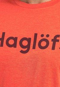 Haglöfs - RIDGE LS TEE - Long sleeved top - habanero - 3
