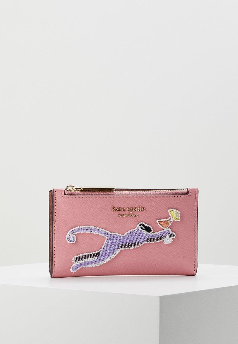kate spade new york - SAFARI SMALL SLIM BIFOLD WALLET - Wallet - rococo pink