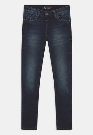 VOZ - Jeans Skinny Fit - dark-blue denim