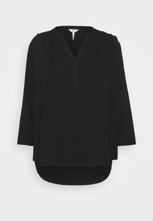 OBJBAYA V NECK BLOUSE NOOS - Blouse - black