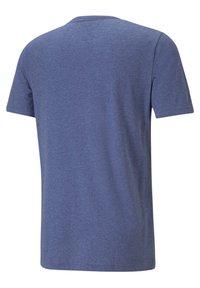 Puma - ESS ESSENTIALS HEATHER - Sports shirt - blau - 3