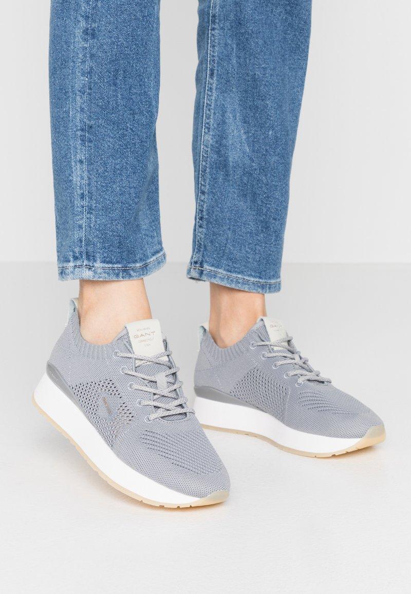GANT - BEVINDA - Sneakers laag - steel gray