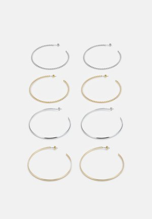 EARRINGS 4 PACK - Øredobber - gold-coloured/silver-coloured