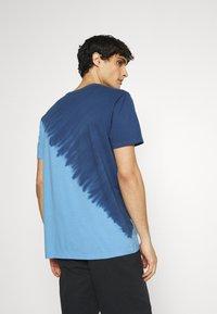GAP - LOGO - Print T-shirt - blue - 2