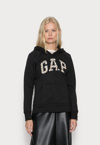 GAP - NOVELTY - Sweater met rits - black - 0