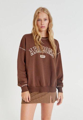 BRAUNES SWEATSHIRT ARIZONA - Felpa - brown