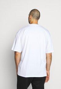 Edwin - SAD - Print T-shirt - white - 2