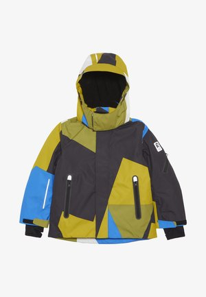 WHEELER - Ski jacket - yellow moss