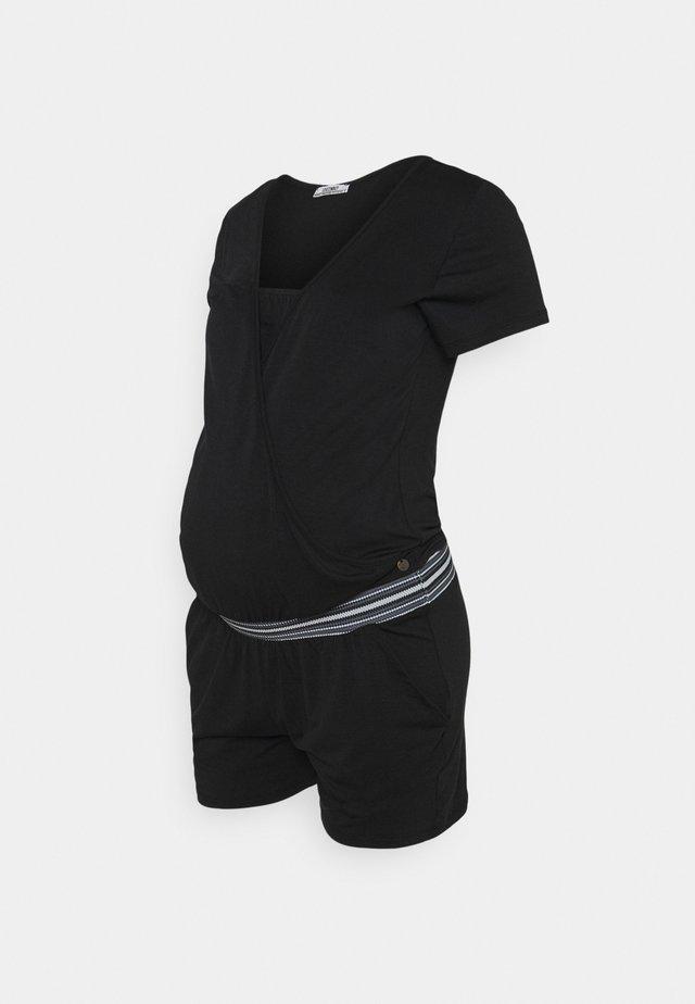 PLAYSUIT - Overall / Jumpsuit /Buksedragter - black