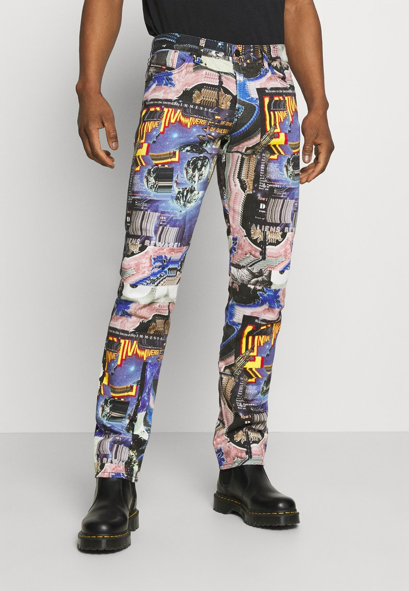 Diesel - D-KRAS-X-SP7 - Slim fit jeans - multicolour