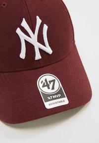 '47 - NEW YORK YANKEES UNISEX - Cap - dark maroon - 4