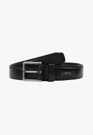 STITCHED BOMBED BELT - Belt - black