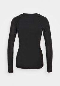 Björn Borg - CARY TEE - Sports shirt - black beauty - 1