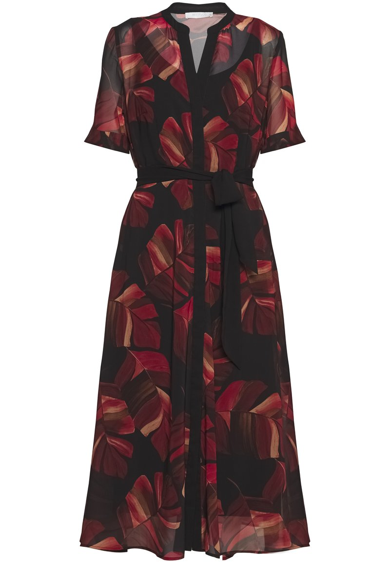 Betty & Co - Day dress - black/red